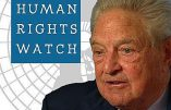 Human Rights Watch et le Nouvel Ordre Mondial